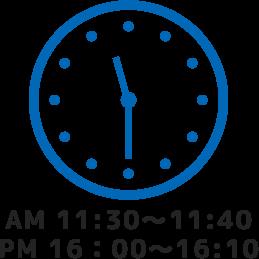 AM11:30~.PM16:00~