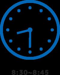 8:30~8:45